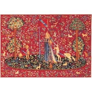 Le toucher tapisserie la dame la licorne - Tapisserie dame a la licorne ...